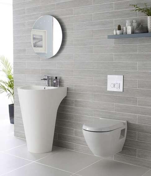 ideas de tocador de baño para baños pequeños Ideas Para Maximizar El Espacio En Baos Pequeos