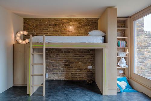 Dormitorio moderno (Houzz)